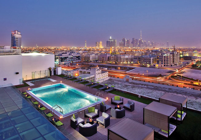 Best swimming pools in dubai what 39 s on for K porte inn hotel dubai