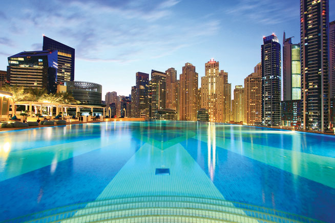 Best swimming pools in dubai what 39 s on for Garden pool dubai