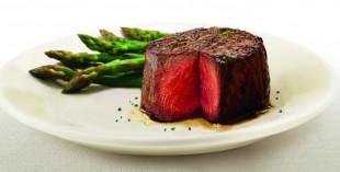 Steak at Ruth's Chris