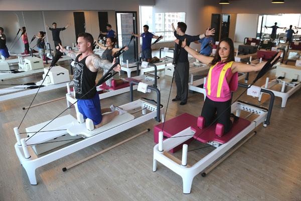 Cardio Pilates class in Dubai
