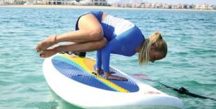 Yoga with a twist in Dubai