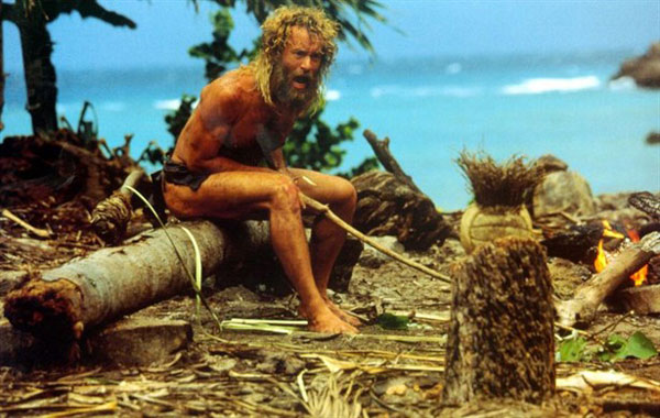 CastAway, starring Tom Hanks