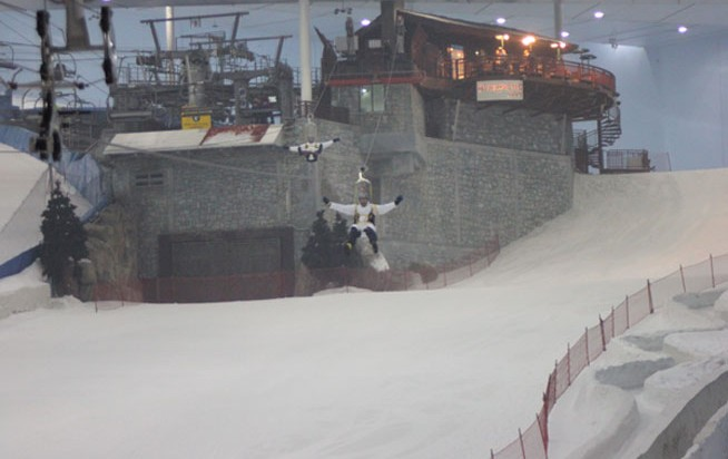 Snow Bullet at Ski Dubai