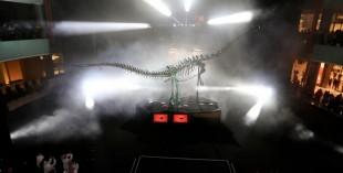 Dinosaur in Dubai Mall