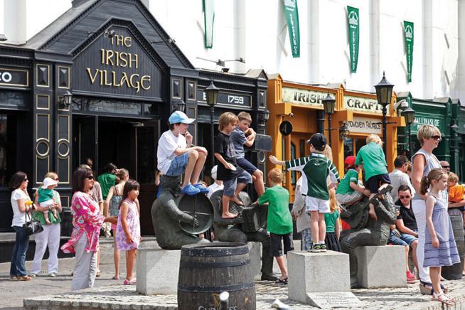 Irish Village on St Patrick's Day