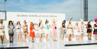 Amazing hats at the races, Dubai World Cup