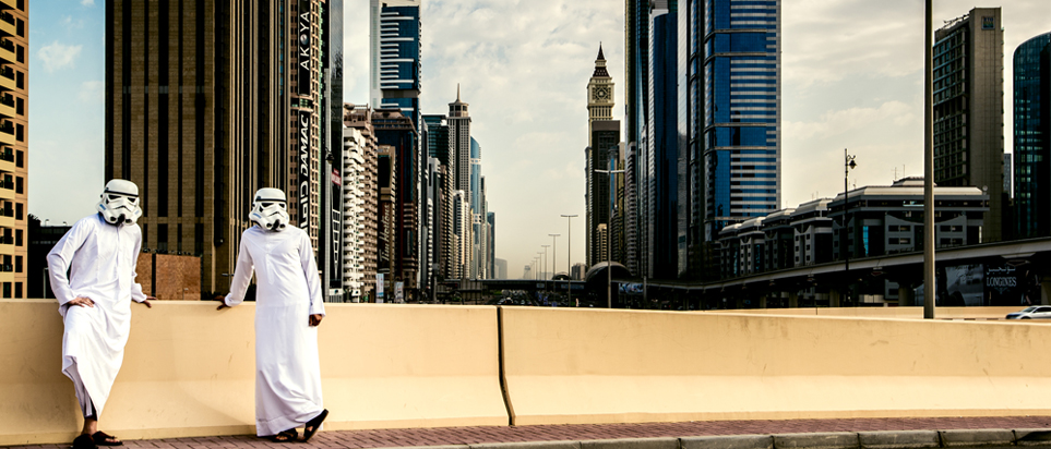 Stormtrooper helmet art work to go on show in Dubai