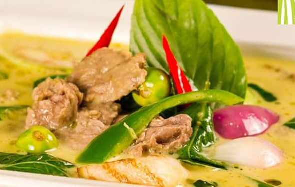 green curry lemongrass