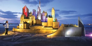 Sand sculptures at JBR