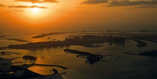 Pictures of Dubai beaches and coastline from the sky