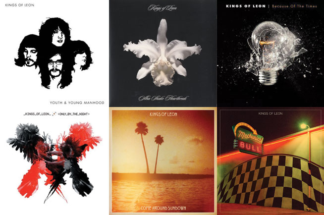Kings of Leon albums