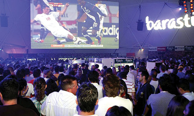 Barasti - where to watch the World Cup
