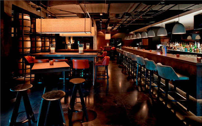 La Fabrique Sports Bar at Pullman Dubai Deira City Centre Hotel