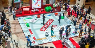 Giant Monopoly at Mall Of The Emirates