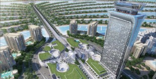 Palm Tower Dubai - Dubai's highest swimming pool
