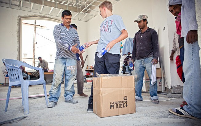 Water for Workers helps labourers in Dubai