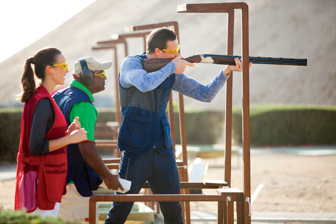 Jebel Ali shooting club