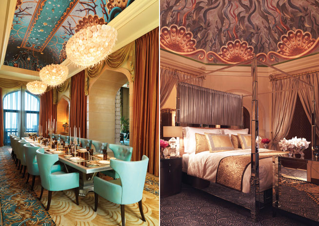 Most expensive hotel suite - Atlantis The Palm