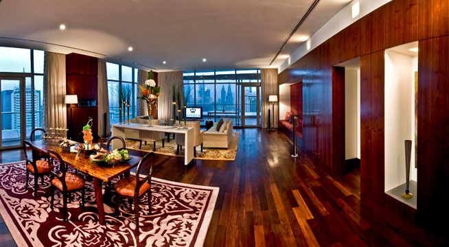 Biggest hotel suite - Royal Suite