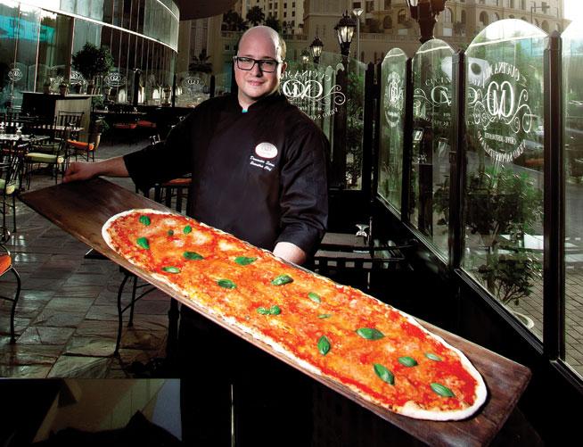 Biggest pizza - Cucina Mia