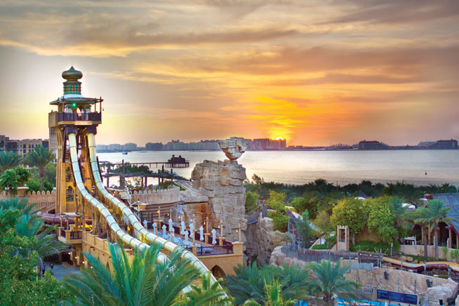 Highest waterslide - Jumeirah Sceirah, Wild Wadi