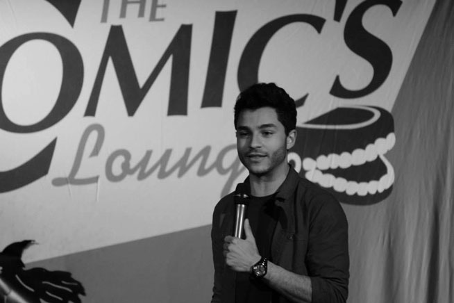 Khaled Khalafalla - how to be a stand-up comedian