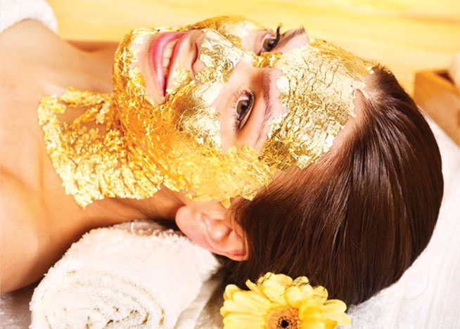 Most expensive spa treatment - the 24-carat gold facial at Jumeirah Zabeel Saray