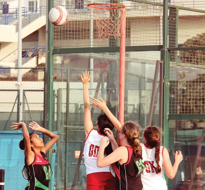 Netball at Dubai Sports City