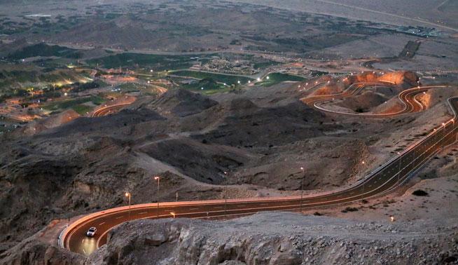 Red Bull Sultan of the Desert, at Jabal Hafeet