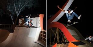 Seb Porter skateboarding photography