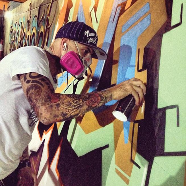 Sya One - graffiti in Dubai