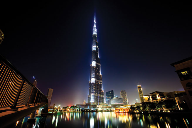 Tallest building - Burj Khalifa