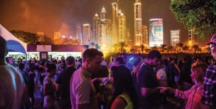 Underground nightlife in Dubai - Groove on the Grass