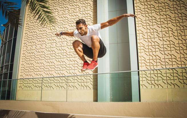 Street workouts in Dubai - Hesham Kamel