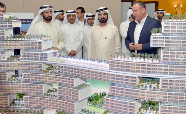 Royal Atlantis - new hotel on The Palm, unveiled by Sheikh Mohammed