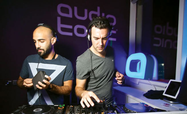 Audio Tonic are part of Party In The Park's Hype Clubhouse