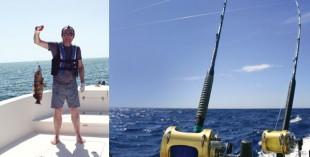 Deep sea fishing in the UAE