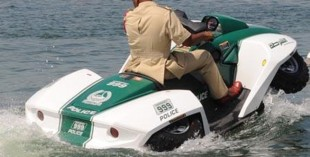 Dubai Police vehicles - jet-ski/quad bike