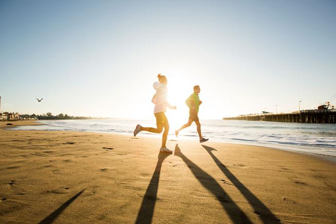 Sunrise running - Dubai Marathon training blog