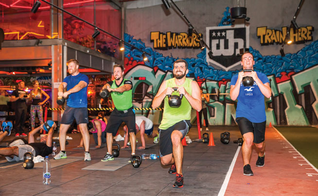 Desert Warrior Challenge, Dubai - training programme at Warehouse Gym