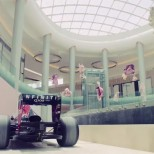 Yas Mall let Infiniti Red Bull loose