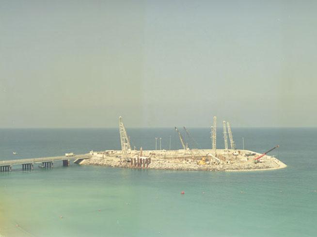 Burj Al Arab Under Construction November 1996 What 39 S