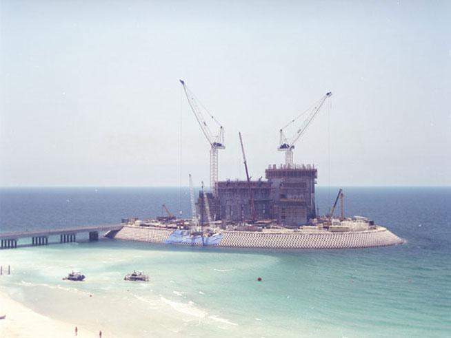Burj Al Arab Under Construction December 1996 What 39 S