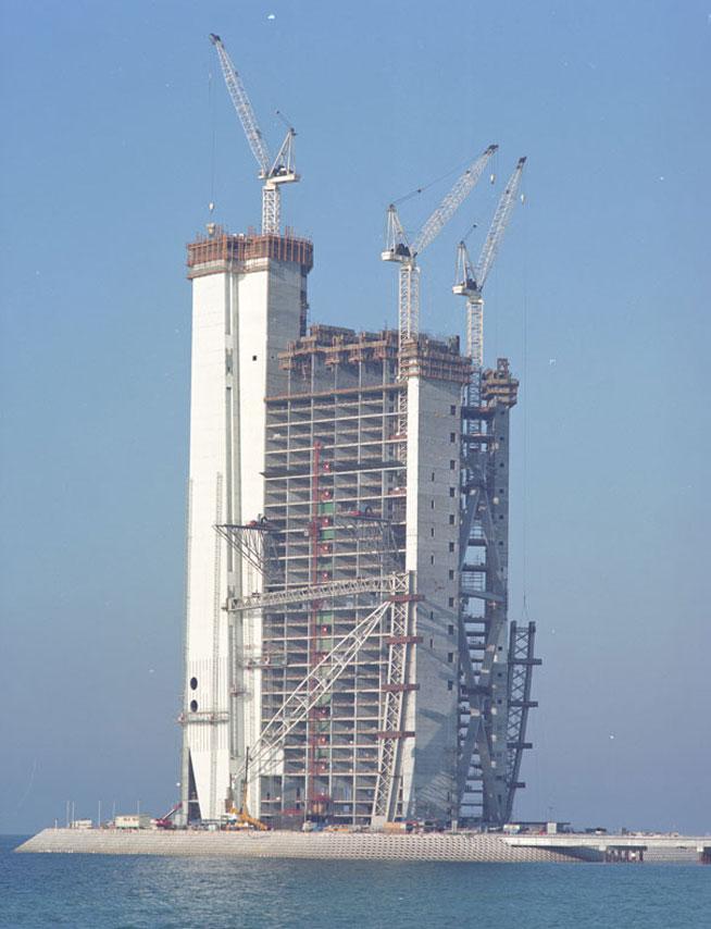 Burj Al Arab Under Construction January 1997 What 39 S On