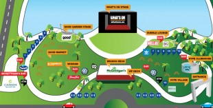 Party In The Park map