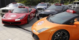 Supercar Taxis to be used during Dubai Motor Festival