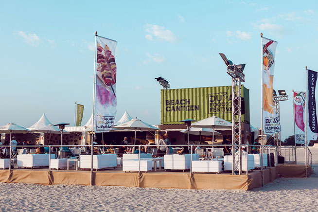 Dubai Food Festival Kite Beach