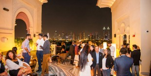 Mercury Lounge Four Seasons Dubai - launch party pictures