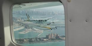 Aerial tours of Dubai