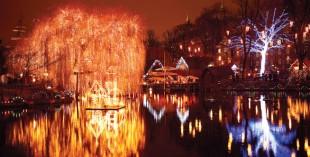 Tivoli Gardens Christmas Market, Denmark